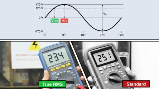 تفاوت بین RMS و True RMS
