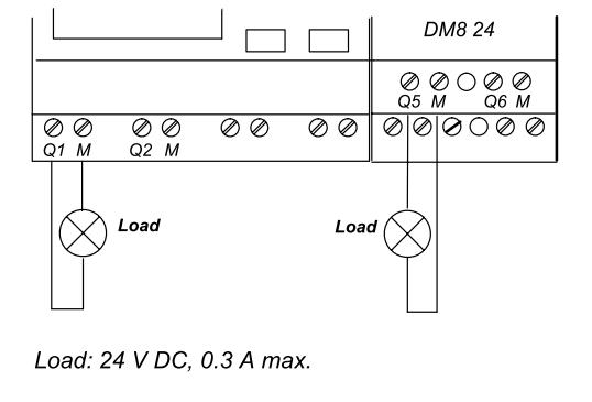 سیم کشی خروجی دیجیتال ترانزیستوری