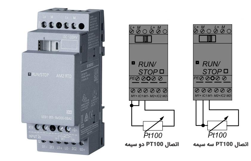 ماژول AM2 PT100 یا AM2 RTD|کارت ورودی آنالوگ لوگو