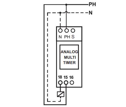 راهنمای نصب و تنظیم مولتی تایمر آنالوگ شیوا امواج
