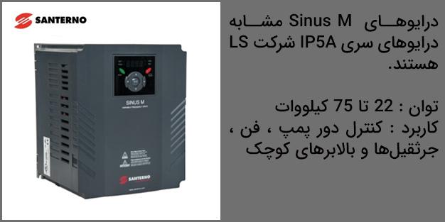 مشخصات فنی درایو Sinus M