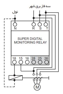 راهنمای نصب سوپر کنترل فاز دیجیتال شیوا امواج