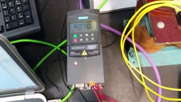 راهاندازی درایو G120 زیمنس در شبکه پروفیباس