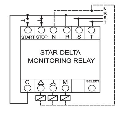 راهنمای نصب کنترل فاز ستاره مثلث شیوا