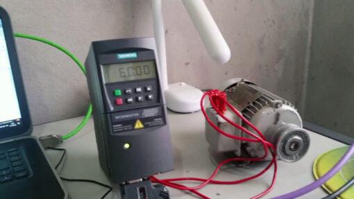 راهاندازی درایو زیمنس با اتصال مستقیم به PLC