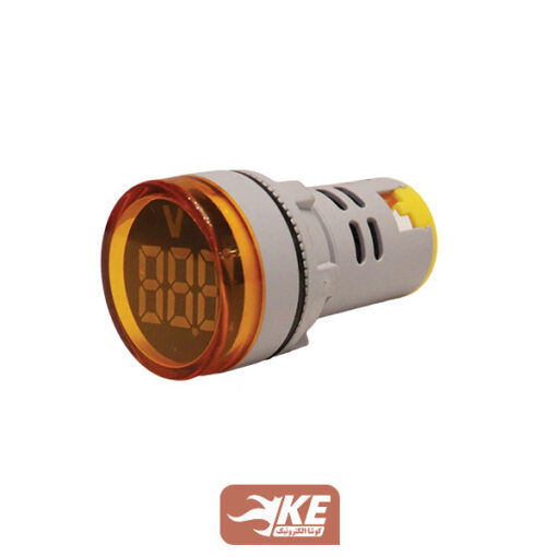 چراغسیگنال زرد ولتمتر توانا