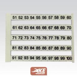 شماره ترمینال 51تا100 سایز NS5 رعد