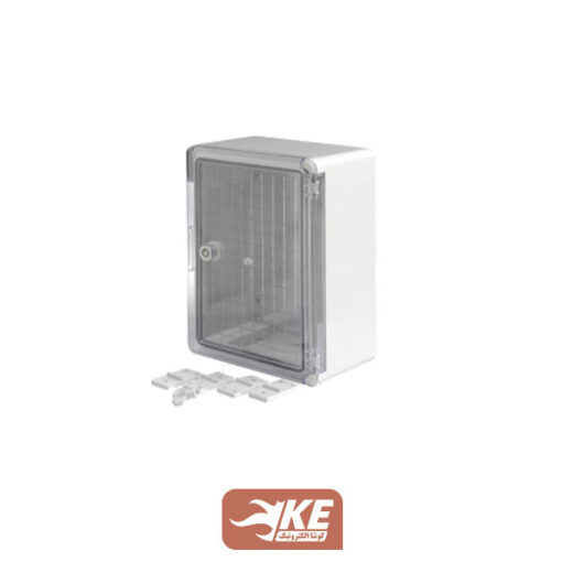 تابلو ABS درب شفاف 35×25 دانوب