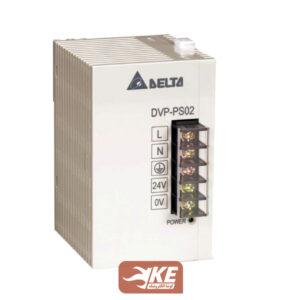 منبعتغذیه ریلی 24ولت 2 آمپر دلتا DVPPS02