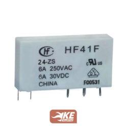رله 24ولت 6آمپر هونگفا HF41F